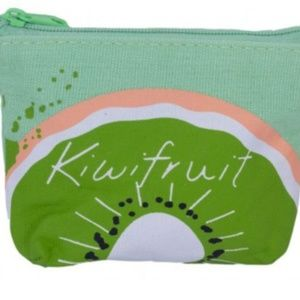 New Kiwi Fruit Coin purse wallet pouch